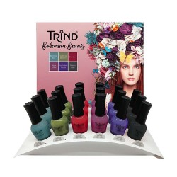 Trind Display Caring Color Bohemian Beauty 18 x 9ml