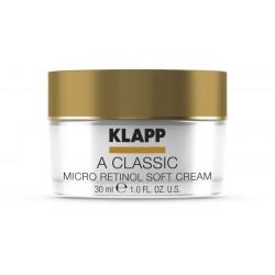 klapp a classic micro retinol soft cream