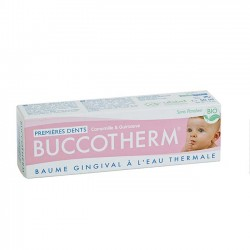 BUCCOTHERM Baume Gingivial Bio Premires Dents 50ml