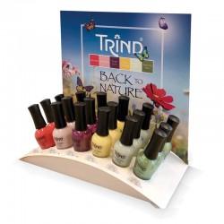 Trind Présentoir Caring Color Back to Nature 18 x 9ml