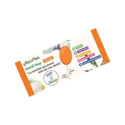 Sucettes au xylitol Denti-Pop Lollitol Orange 40 pièces