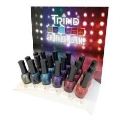Trind Display Caring Color Spotlights On 18 x 9ml